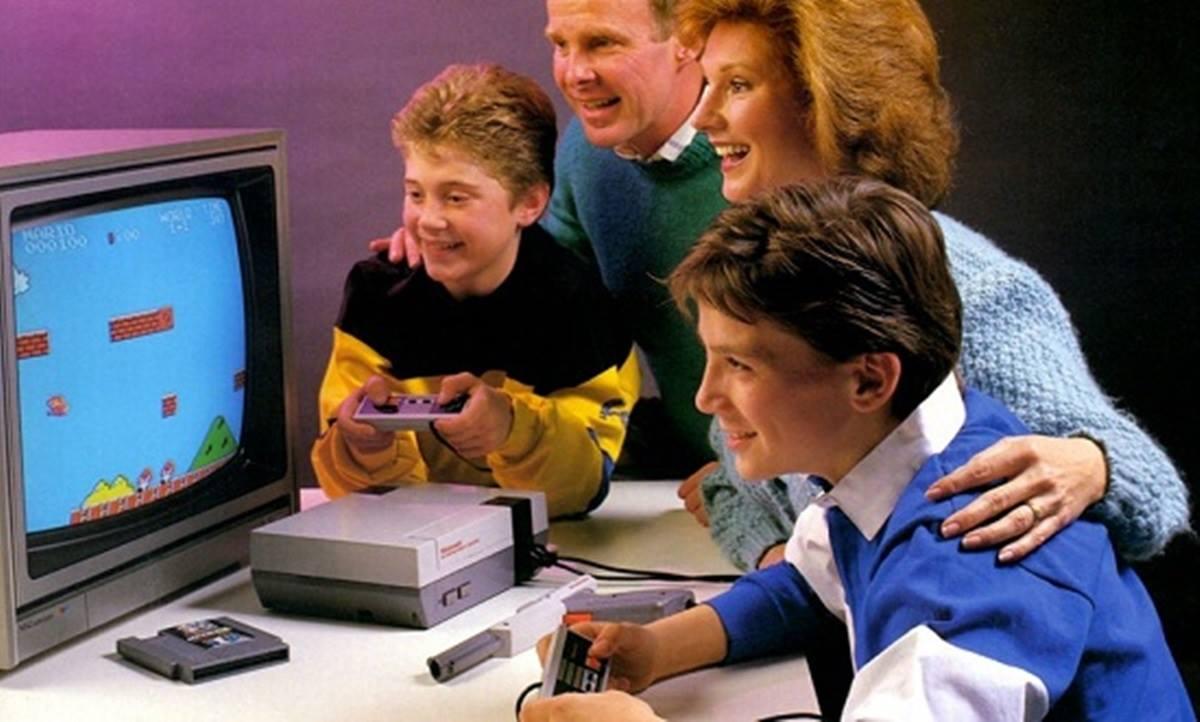 Nintendinho - NES - Foto Antiga