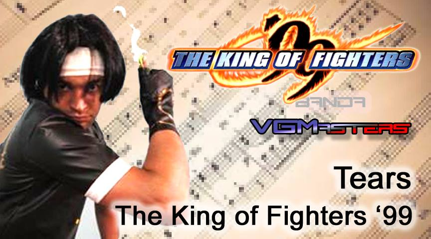 The King of Fighters - Kyo - Cosplay e Tears - Imagem