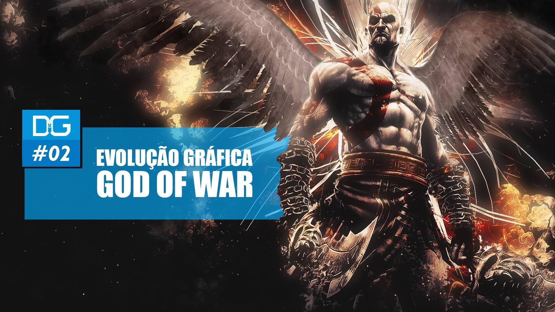 Evoluçao Gráfica - God of War - Kratos - Imagem
