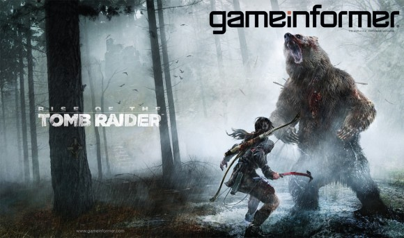 Game Informer - Rise of The Tomb Raider - Capa