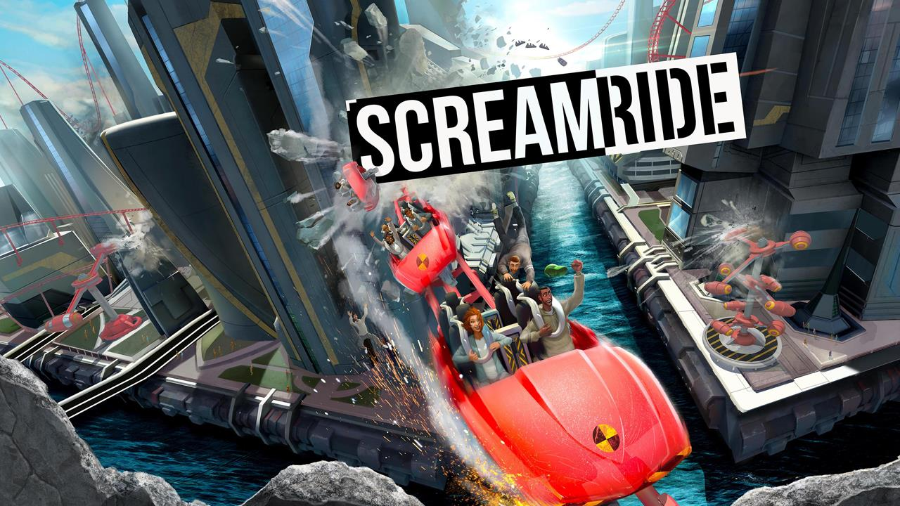 Screamride - Xbox One - KeyArt