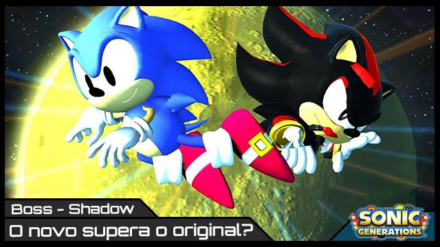Sonic Generations - Shadow - Imagem RK Play - Boss