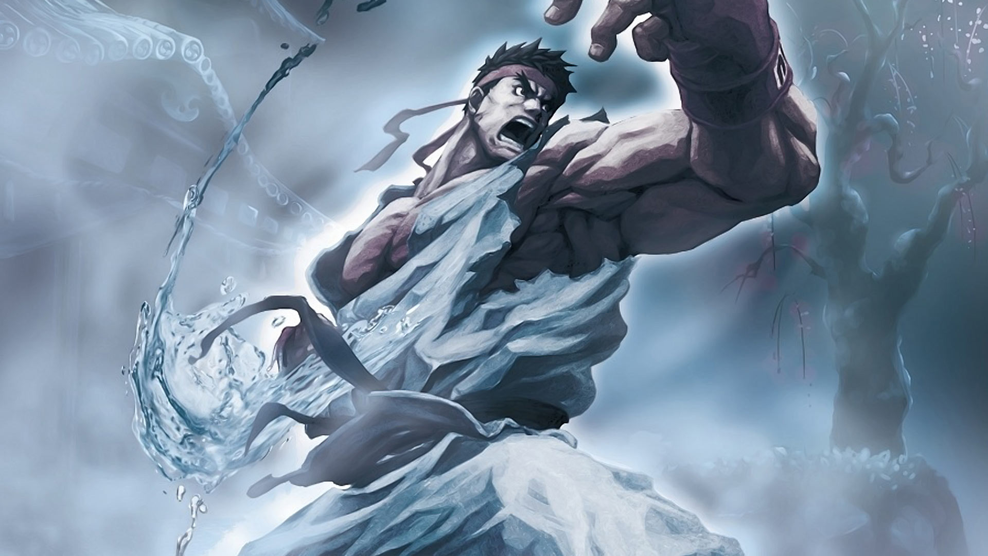 Street Fighter - Ryu - Wallpaper Full HD - 1920x1080