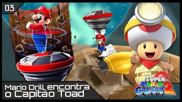 Super Mario Galaxy 2 - Capitão Toad - RK Play - Imagem