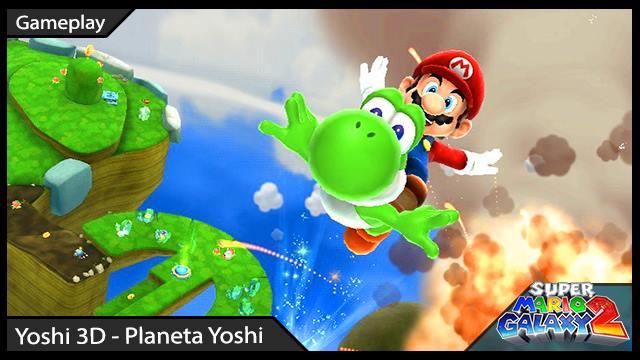Super Mario Galaxy 2 - RK Play - Yoshi