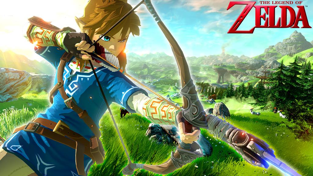 The Legend of Zelda - Wii-U - New Game Screen