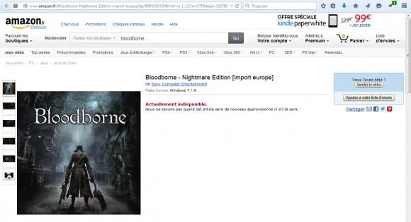 Bloodborne - PC - Amazon France