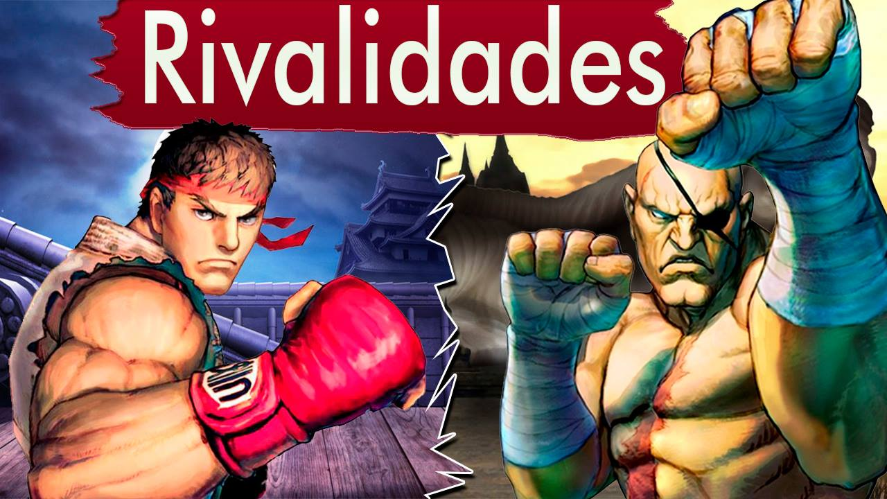 RIvalidades - Ryu vs Sagat - Imagem