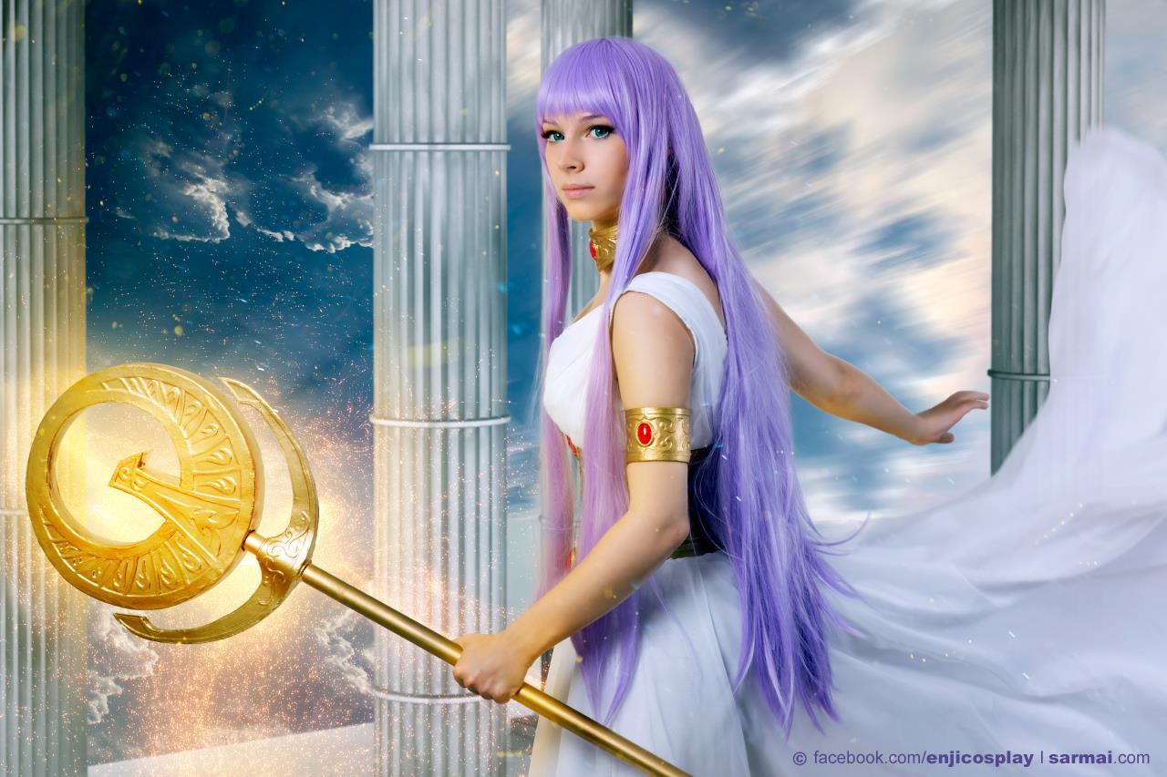 Saori Kido - Cosplay - Cavaleiros do Zodíaco - 01