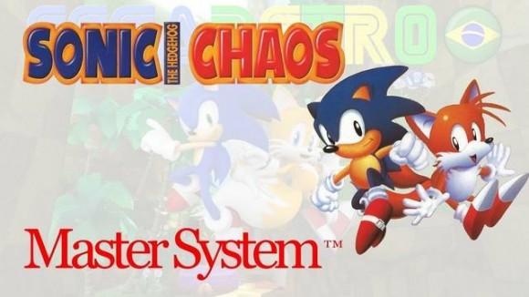 Sonic Chaos - Master System - Sega Retro BR - Imagem