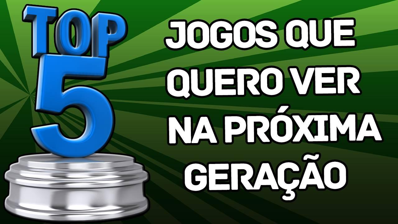 Top 5 - Próxima Geração - Renato Rodrigues - Imagem