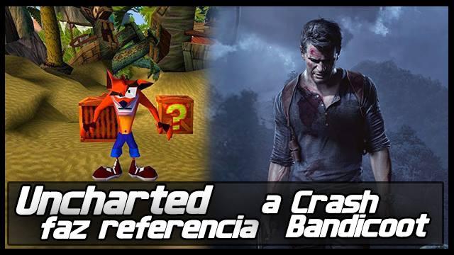 Uncharted Crash - Referências - Imagem