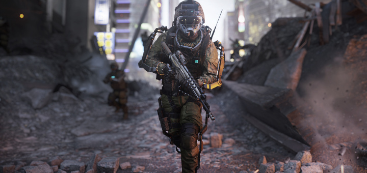 Call of Duty - Advanced Warfare - Soldier Screen Index