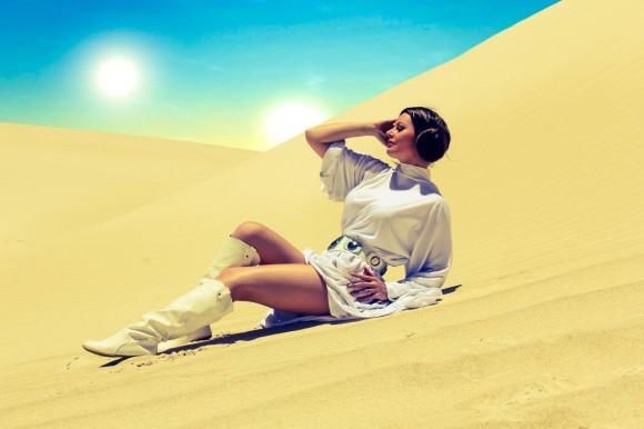 Cosplay - Princesa Leia - Lady Jaded - 05 - Tatooine
