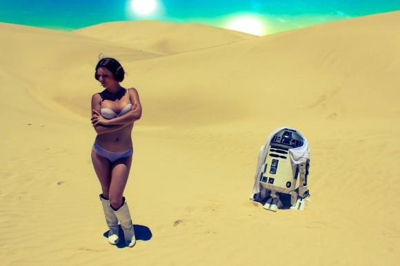 Cosplay - Princesa Leia - Lady Jaded - 09