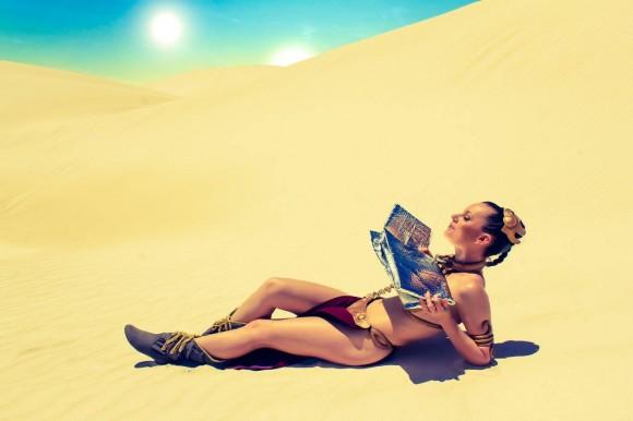Star Wars Cosplay - Leah Princess - Metal Bikini - Lady Jaded - 06