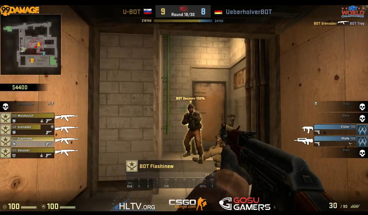 Counter-Strike Global Offensive - Campeonato de Bots - Imagem