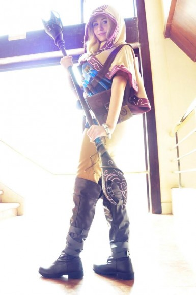 Lux - Ladra Arcana - Cosplay - League of Legends - 02