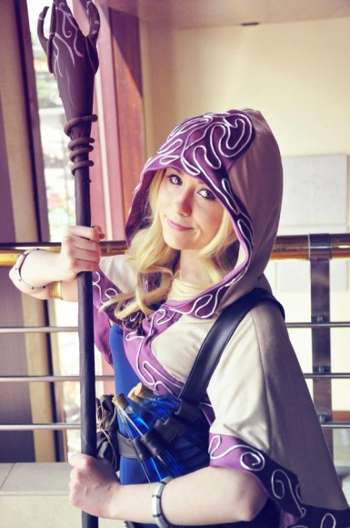 Lux - Ladra Arcana - Cosplay - League of Legends - 03