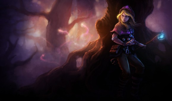 Lux - Ladra Arcana - League of Legends - Wallpaper