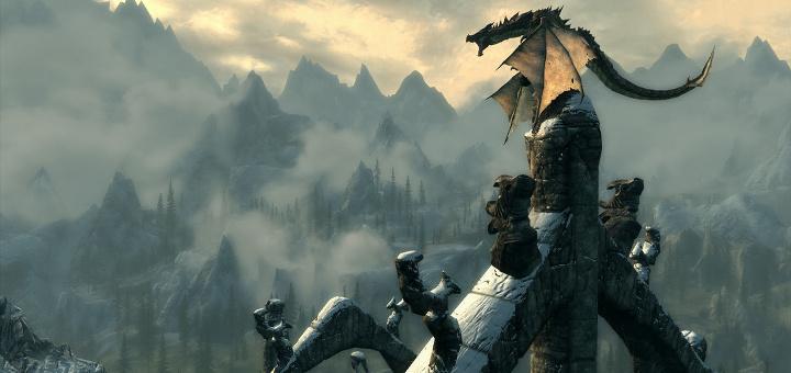 Skyrim - Dragão - Imagem Index