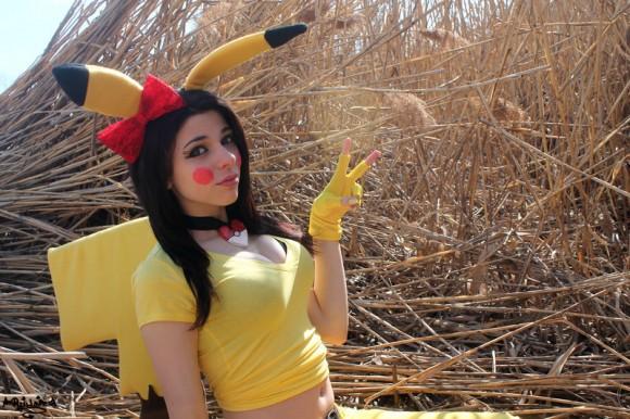 A Wild Pikachu has appeared - Pokémon Cosplay - By Ryuu Lavitz - 06