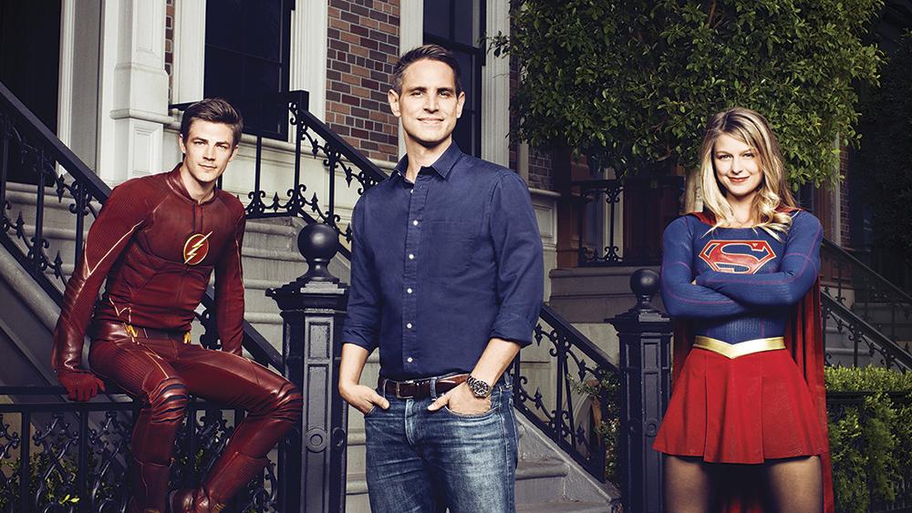 Greg Berlanti - Flash - Supergirl - Photo