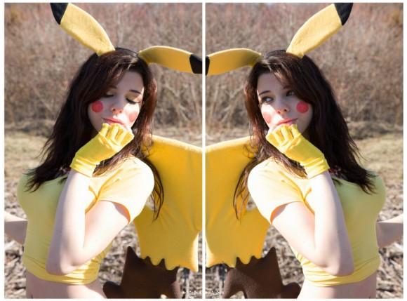 Peaceful Double Team - Pikachu Cosplay - Pokémon - By Ryuu Lavitz - 07