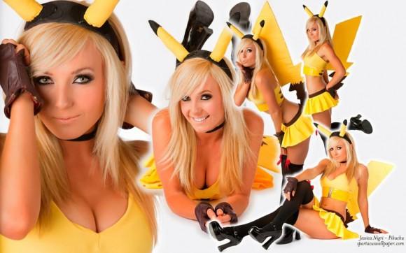 Pikachu - Jessica Nigri - Pokémon Cosplay