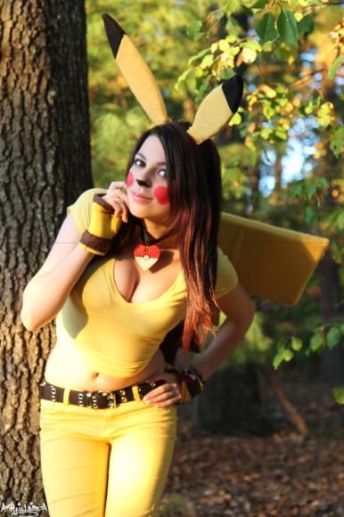 Quirky Pikachu - Pokémon Cosplay - By Ryuu Lavitz - 01