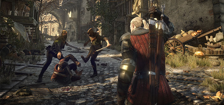 The Witcher 3 - Trailer de Lancamento - Screen