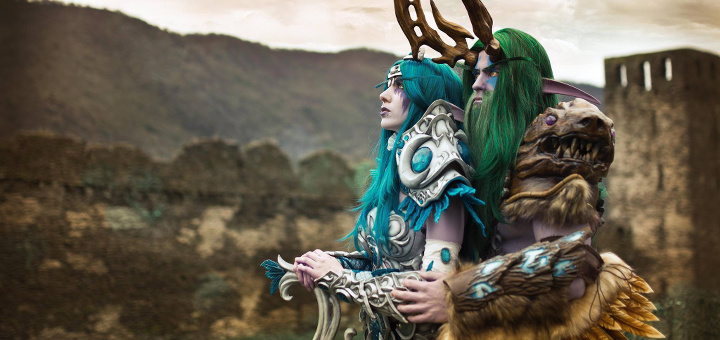 Malfurion e Tyrande - Cosplay - World of Warcraft - Index