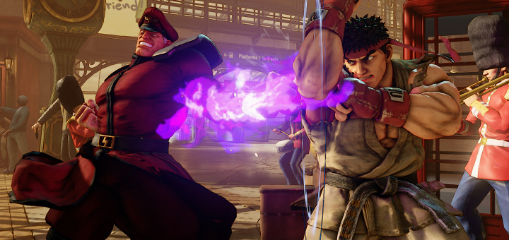 Street Fighter V - Bison vs Ryu - Screenshot Index 1
