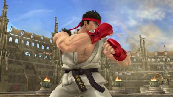 Super Smash Bros - Ryu 01