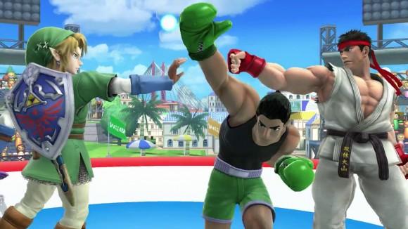 Super Smash Bros - Ryu e Link