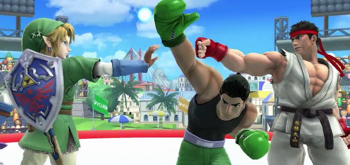 Super Smash Bros - Ryu e Link - Index
