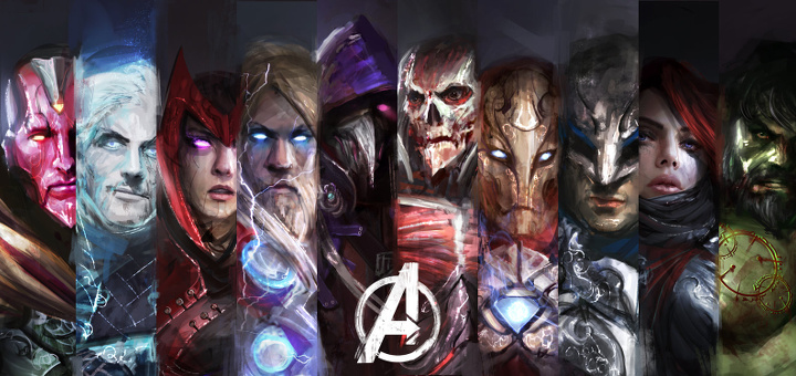 Vingadores - The Avengers - Personagens - By thedurrrrian - Index