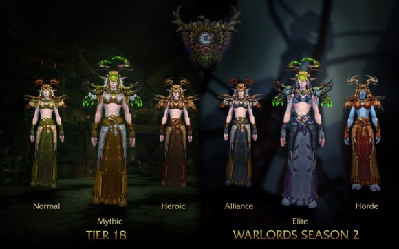 World of Warcraft - Patch 6.2 - Armaduras - Druida