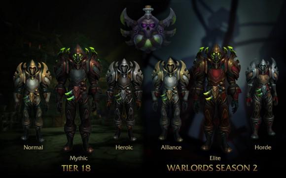 World of Warcraft - Patch 6.2 - Armaduras - Ladino