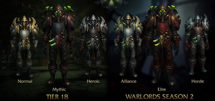 World of Warcraft - Patch 6.2 - Armaduras - Ladino Index