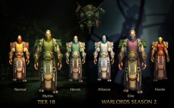 World of Warcraft - Patch 6.2 - Armaduras - Monge