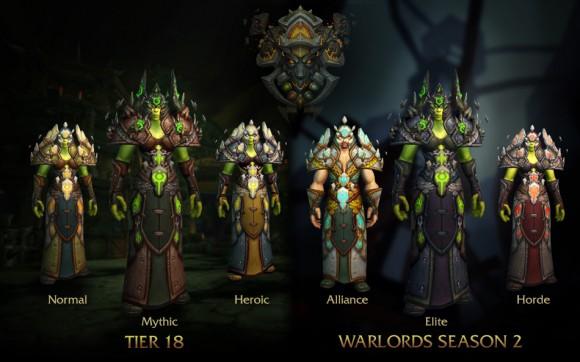 World of Warcraft - Patch 6.2 - Armaduras - Xamã