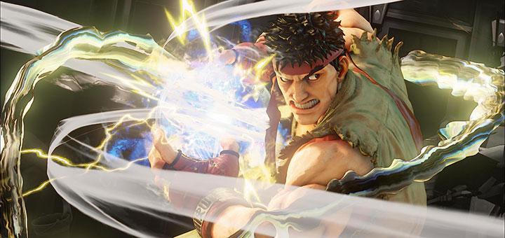 Street Fighter V - Novas imagens mostram Hadouken elétrico