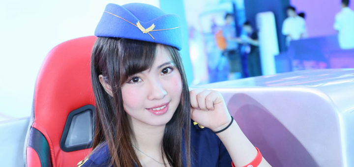 ChinaJoy 2015 - Booth Babe - Chinesa Aeromoça - Index