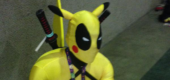Cosplay - Deadpachu - Deadpool com Pikachu - Index