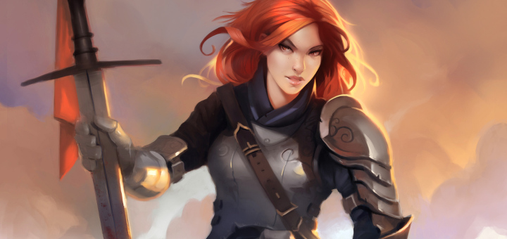 Crowfall - Female Templar - Concept
