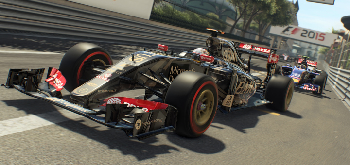 F1 2015 - Gameplay Screenshot Index