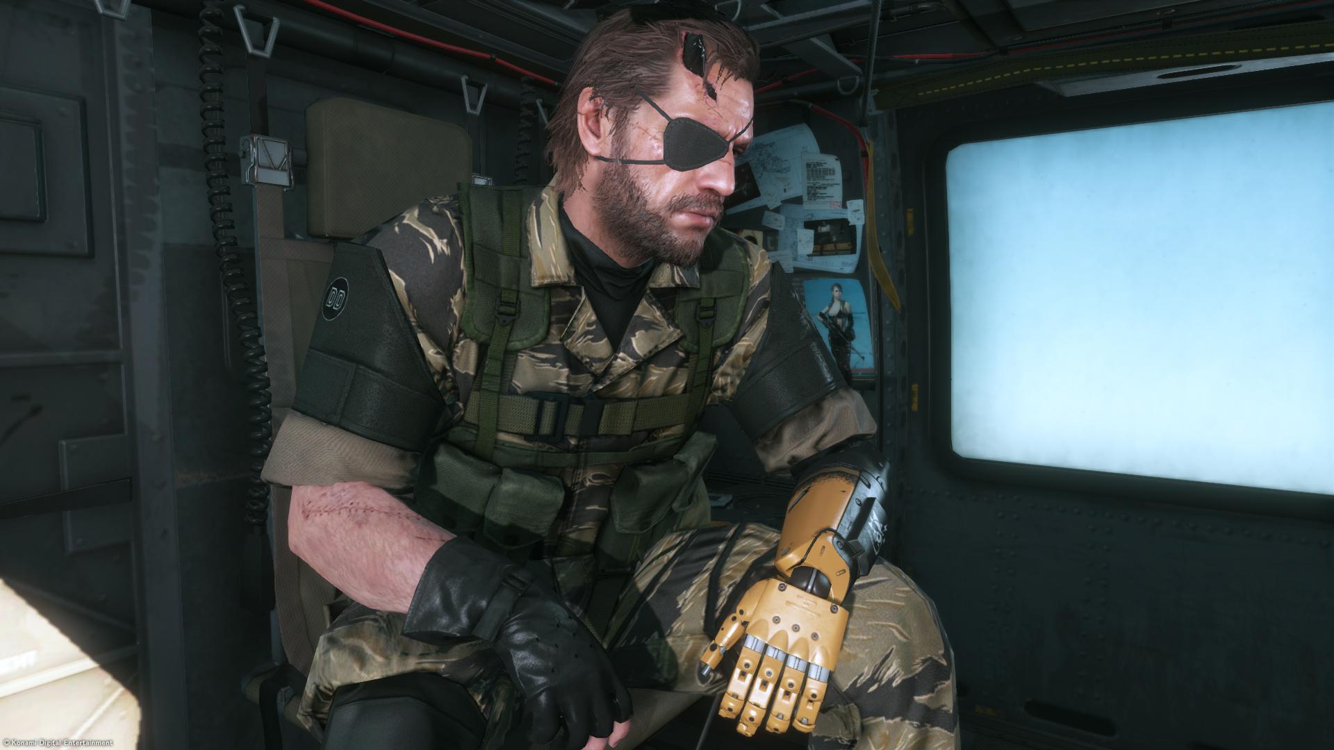 Metal Gear Solid V - The Phantom Pain - Control room - PS4