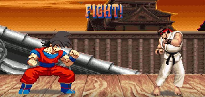 goku-vs-street-fighter-ii