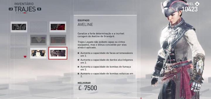 Assassin's Creed Syndicate - Evie com Roupa da Aveline - Index